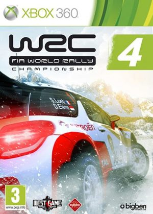 خرید بازی WRC FIA World Rally Championship 4 برای XBOX 360