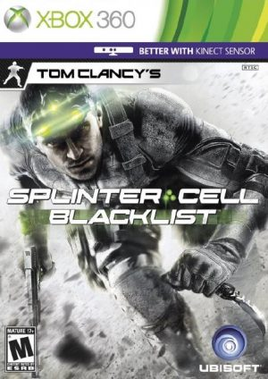 خرید بازی Splinter Cell Blacklist برای XBOX 360