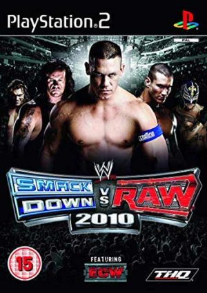 خرید بازی WWE Smackdown vs Raw 2010 برای PS2