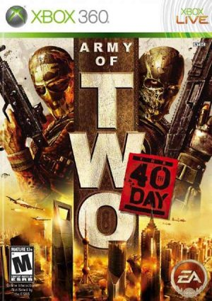 خرید بازی Army of Two The 40th Day برای XBOX 360