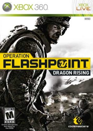 خرید بازی Operation Flashpoint Dragon Rising برای XBOX 360